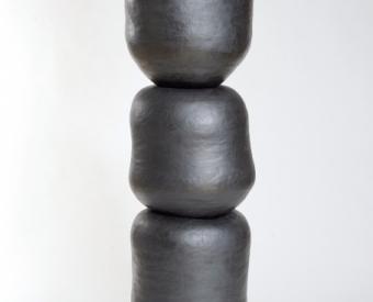 """Sonja Duò-Meyer's ceramic sculpture """"3 Piece Vessel"""""""