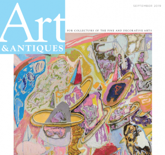 Larry Poons Profile in Art & Antiques