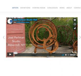 Joel Perlman Studio Visit Video