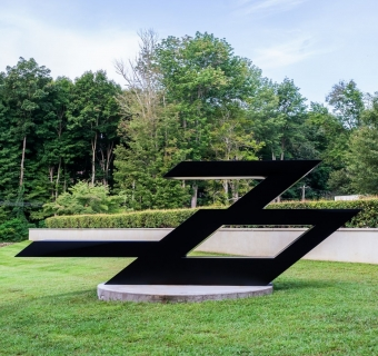 Ronald Bladen on view at the Katonah Museum of Art