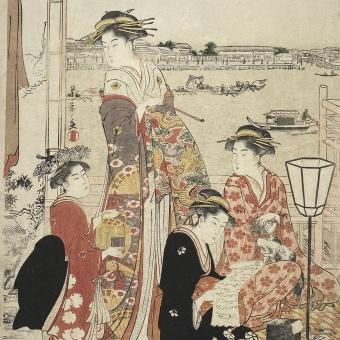 Chōbunsai Eishi (1756-1829)