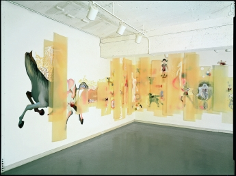 On the Wall: Shahzia Sikander, William Kentridge, Barry McGee, Margaret Kilgallen