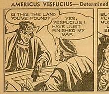 AMERICUS VESPUCIUS STRIP 1942
