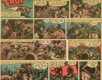 TRUE COMIC STRIPS 1942-1943
