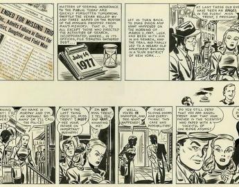 DUKE DIXON STRIP 1947