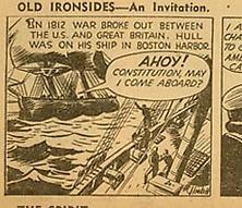 OLD IRONSIDES STRIP 1942