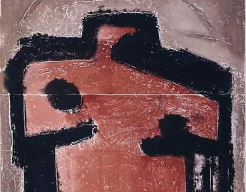 TWO PANEL WORKS 1970-1980s