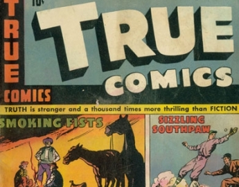 TRUE COMIC COVERS 1940s