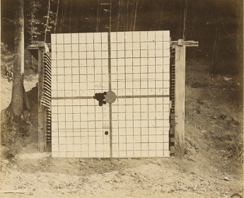 Krupp Firing Range at Bredelar. Armor Shooting Trial