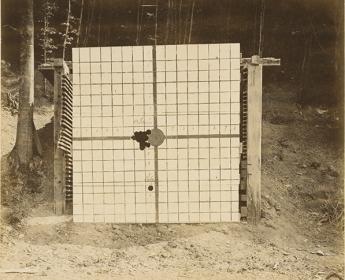 Krupp Firing Range at Bredelar. Armor Shooting Trial
