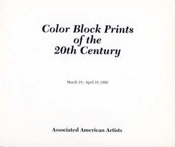 A.A.A. Color Block Prints of the 20th Century