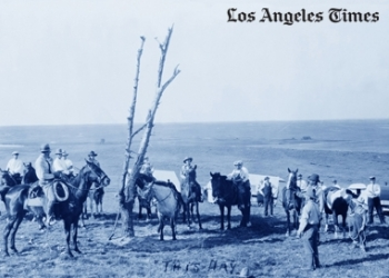 KEN GONZALES-DAY FEATURED IN LOS ANGELES TIMES SHARING HIS RESEARCH SURROUNDING LOS ANGELES' SILENCED LYNCHINGS