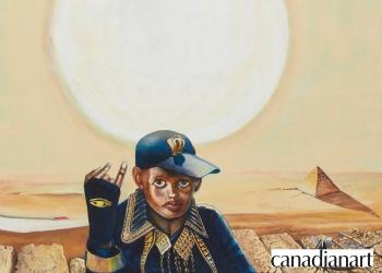 JIM ADAMS: ETERNAL WITNESS REVIEWED FOR CANADIAN ART