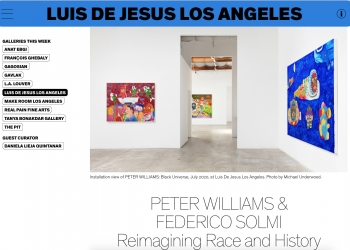 Peter Williams & Federico Solmi: Reimagining Race and History