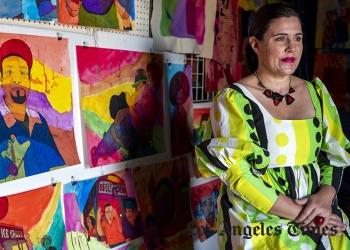 """ARTIST KARLA DIAZ TURNS INSOMNIA INTO DREAM-LIKE PAINTINGS AT LUIS DE JESUS"""