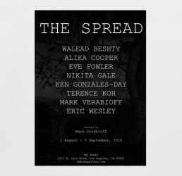 "Ken Gonzales-Day to participate in ""The Spread,"" curated by Mark Verabioff"