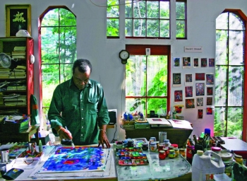 David Driskell at the Center for Maine Contemporary Art