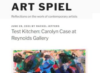 Carolyn Case press in Art Spiel