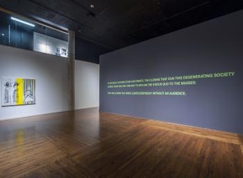 On view: Julia Wachtel at Utah Museum of Contemporary Art