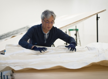 New video of hiroshi senju at work
