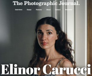 Elinor Carucci in The Photographic Journal