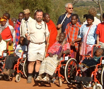 Wildscapes Foundation partners with the Behring Global Educational Foundation for the distribution of over 500 wheelchairs to Africa Summer 2019