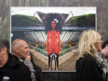 Kembra Pfahler and E.V. Day's 'Giverny' Opens at the Hole
