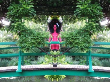Punk Rock Meets Monet in E.V. Day's Giverny