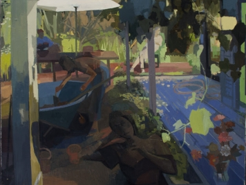 Susan Lichtman, Oil On Canvas