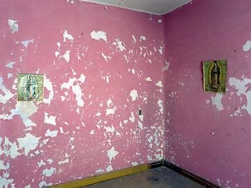GABRIEL DE LA MORA Untitled (Before the Clean from Ghost) 2008, cibachrome, 20 x 30 inches.