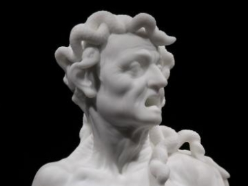 BARRY X BALL Envy (detail) 2008-2010, marble sculpture
