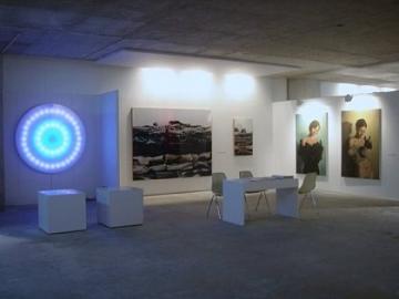 MACO booth installation