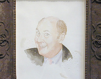 Willard Scott drawing