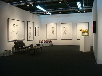 2009. Installation view: booth E-01, PULSE New York.