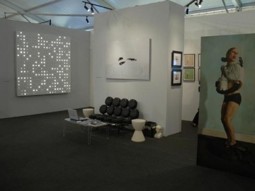 Pulse Miami booth installation