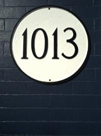 1013 O street sign