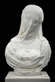 Barry X Ball, Purity, marble sculpture