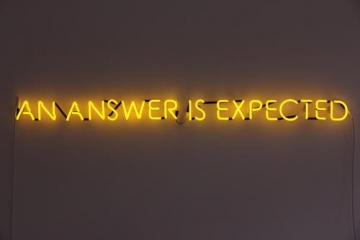 MacWilliam, An Answer is Expected, neon