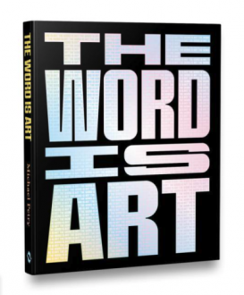 THE WORD IS ART catalog cover