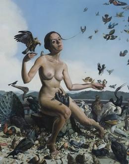 Erik Thor Sandberg's Painted Scenes of Vice and Virtue