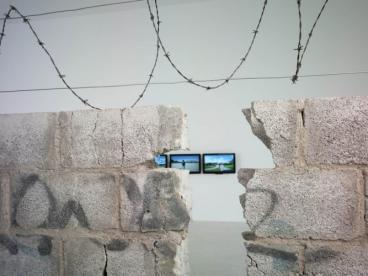 Installation view,Teresa Margolles: Frontera, MUSEION Bozen/Bolzano, Italy, May 28 - August 21, 2011