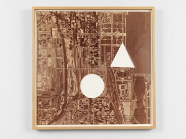 SOL LEWITT A Square of Chicago Without a Circle and Triangle