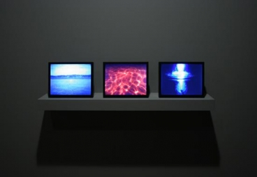 BILL VIOLA Poem A (installation view), 2005