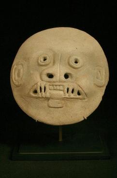 Jaguar/Man Mask Equador La Tolita Culture