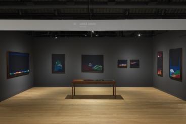 Installation views, Jordan Nassar: Night