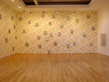 Installation view: Flower Bed, 2003,