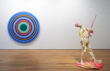 Various Artists. Summer Show. Installation view. NE Corner, Main Gallery. James Cohan Gallery, New York.