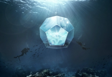 Doug Aitken: Underwater Pavilions