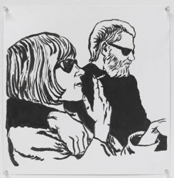 Raymond Pettibon and Dan Graham