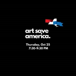 EVENT: Art Save America: A Fundraiser to Benefit the NY Red to Blue Fund